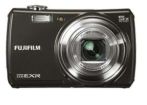 Fujifilm Finepix F200EXR Digital Camera - Black (12MP, 5x Optical Zoom) 3 inch LCD
