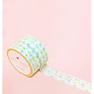 Vintage Delicate Blume Washi Tape for Planning • Planer und Organizer • Scrapbooking • Deko • Office • Party Supplies • Gift Wrapping • Colorful Decorative • Masking Tapes • DIY (15mm breit - 10 M)