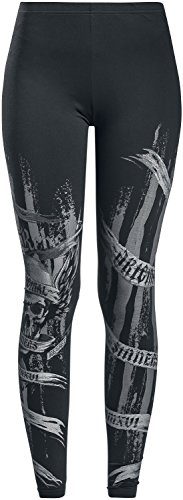 Rock Rebel by EMP Built for Comfort Leggings Black