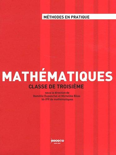 Mathématiques classe de troisième
