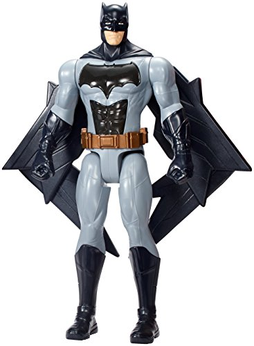Mattel FGH11 - DC Justice League Movie Light und Sound Figur Batman, 30 (Superhelden Anzug Echte)