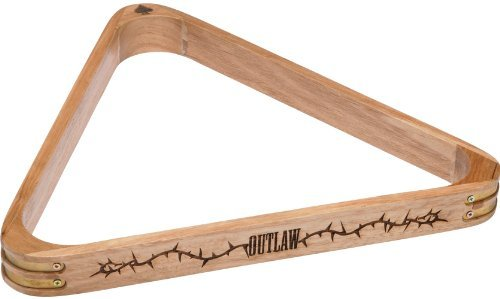 Outlaw Wood 8-Ball Triangle Rack by Outlaw Eyewear -