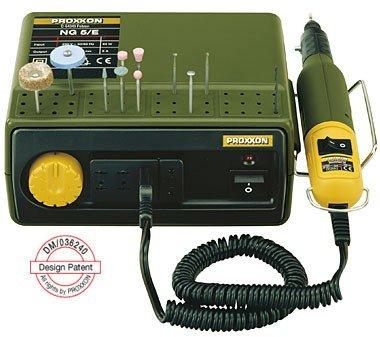 Proxxon 28704 MICROMOT Netzgerät NG 5/E mit 3 Anschlussbuchsen 12 Volt 5 Ampere von NG 5/E - Lampenhans.de