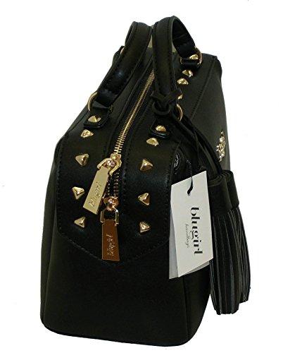 Borsa BAULETTO con tracolla due manici BLUGIRL BG 819001 shoulder bag NERO