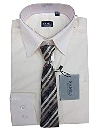Boys//Youths Firetrap Short Sleeve All Over Logo Smart Shirt Bulstrode Wine//Ecru//Dark Grey//Navy Blue
