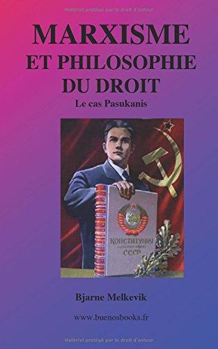 Marxisme et Philosophie du Droit, le Cas Pasukanis por Bjarne Melkevik