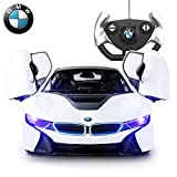BMW i8 Remote Control Kids Car Toy - Opening Doors - Working Lights