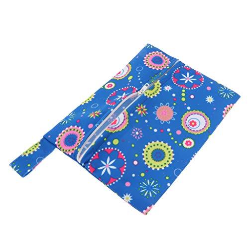 Fenteer Damenbinden-Tasche Windeltasche Feuchttücher Organiser Beutel aus Baumwolle - 04