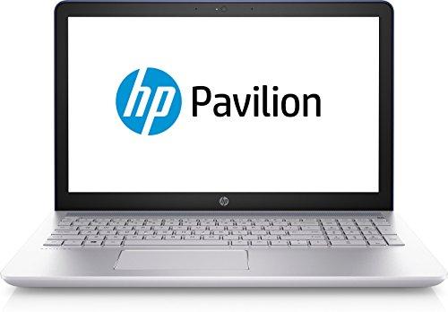 HP Pavilion 15-cc106ng (15,6 Zoll FHD) Laptop (Intel Core i5-8250U, 8GB RAM, 1TB HDD, 128GB SSD, NVIDIA GeForce 940MX 2GB DDR3, Windows 10 Home 64) Blau/Silber