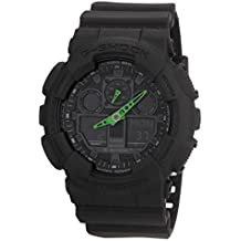 Casio G-Shock – Reloj Hombre Analógico/Digital con Correa de Resina – GA-100C-1A3ER