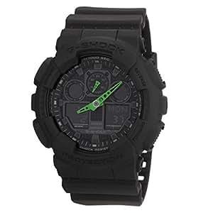 Casio G-Shock – Montre Homme Analogique/Digital avec Bracelet en Résine – GA-100C-1A3ER