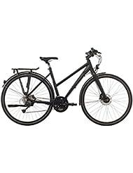 Rabeneick TS 4 Deore - Bicicletas trekking Mujer - negro Tamaño del cuadro 45 cm 2017