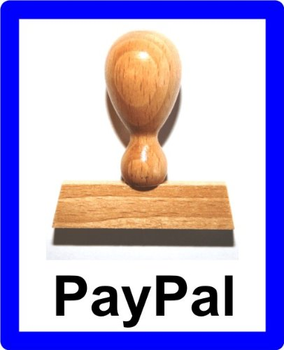 LE-ONs® Holzstempel Professional-Serie L30: PayPal