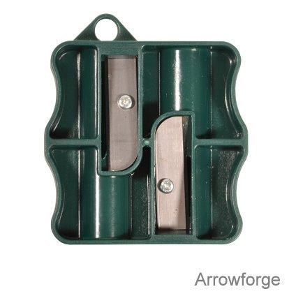 Anspitzer für Holzschäfte / Taper Tool - 5/16 oder 11/32 Zoll (keine Ersatzklingen, für 5/16 Zoll Holzschäfte) -