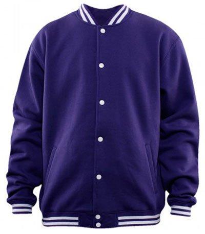 Urban Classics College Sweatjacke Purple
