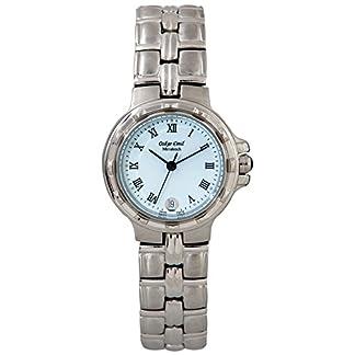 Oskar-Emil Classic Watches Reloj para Mujer de con Correa en Acero Inoxidable Marrakech Ladies 500L