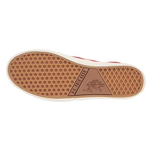 U.S. POLO Scarpe Donna Senza Lacci, Stile Sneaker - mod. GALAD4185S7-CY1 Rosso