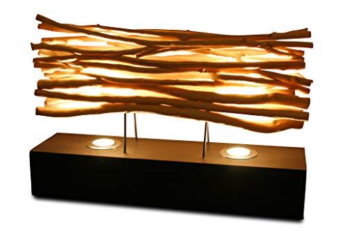 60cm XL Tischlampe aus Treibholz THONPHEUNG von Kinaree -