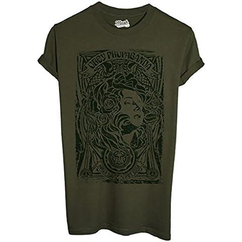 T-Shirt OBEY PROPAGANDA MAKE ART NOT WAR - POLITICA by MUSH Dress Your (Militari T-shirt)