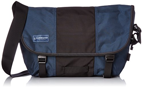 Timbuk2 Classic Print Messenger Bag, unisex, Dusk Blue/Black (Timbuk2 Messenger Laptop)