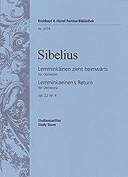Lemminkäinen In Tuonela Op. 223 - Lemminkäinen-suite Nr. 3 - Studienpartitur (Pb 3778)