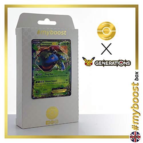 Mega Venusaur EX 2/83 - #myboost X Generations XY - Caja de 10 Cartas Pokémon inglesas
