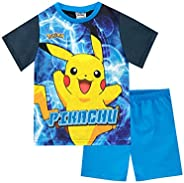 Pokémon Pigiama a Maniche Corte per Ragazzi Pikachu