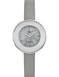 Go Girl Only Damen-Armbanduhr 698588–Armbanduhr 1076312Analog Leder Grau