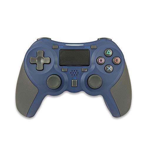 Kabelloser Gamecontroller Gamepad Drahtloser Griff Gummigriff blau