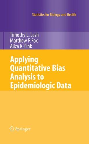 Applying Quantitative Bias Analysis to Epidemiologic Data (Statistics for Biology and Health) (English Edition)