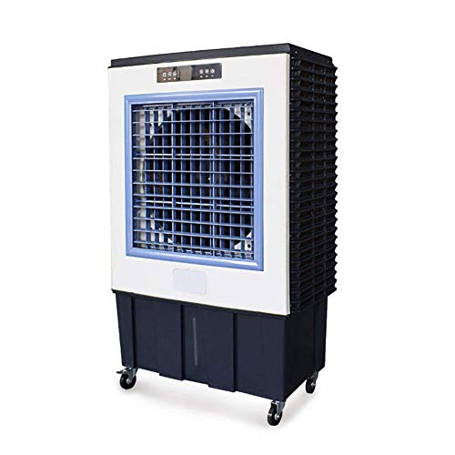 JQUAN Mobile Klimageräte 3 Gebläsemodi und -Geschwindigkeiten,80 l,Luftmenge 12000 m³ / h, intelligente Fernbedienung für Kühlung/Staub/Befeuchtung/Energieeinsparung/zeitgesteuertes Herunterfahren