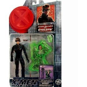 Cyclops Jean (James Marsden As Cyclops Action Figure with Light-up Optic Blasts and Slime Trapped Jean Gray Action Figure - X-men: the Movie Series 1)