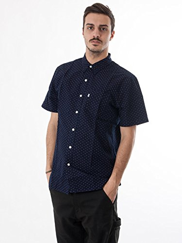 Levi's Herren Shortsleeved Sunset Synthesizer-Hemd, Blau Blau
