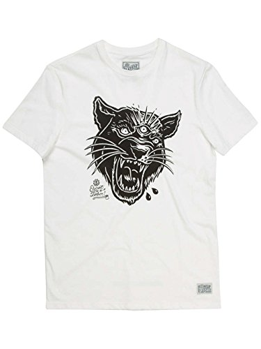 Element T-shirts - Element 3 Eyed Panther T-shirt - Grey Heather Off White