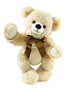 Steiff 013461 Bobby - Oso de Peluche articulado (30 cm), Color Crema
