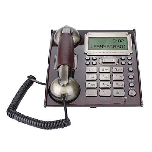 Topiky Teléfono Antiguo Atado Alambre línea Fija