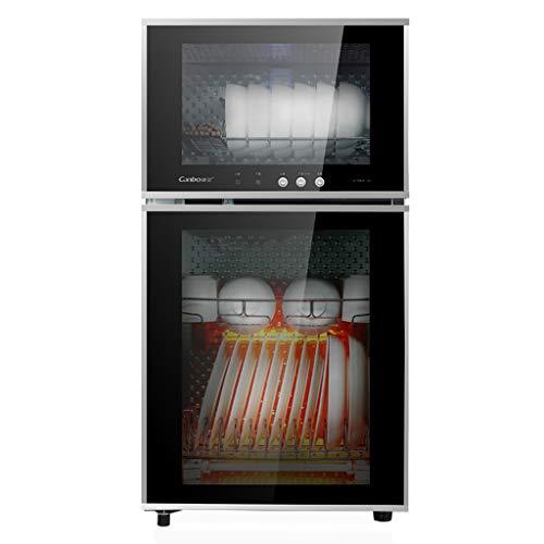 Armoire de désinfection Armoire de nettoyage Baguettes haute capacité 65L Vaisselle Vaisselle Séchage Désinfection
