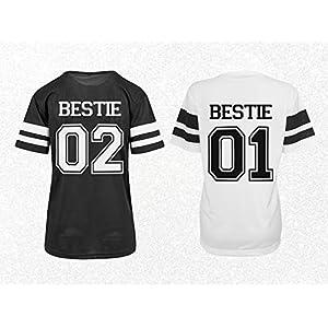 Trikot Shirts Besties Beste Freundin