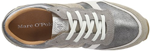 Marc O'Polo Sneaker, Baskets Basses femme Marron - Braun (taupe combi 570)