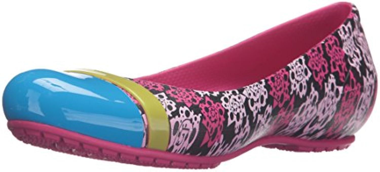 Crocs - - - cap Toe Mondo rosa Flat W, Donna | Primo gruppo di clienti  | Sig/Sig Ra Scarpa  61411a