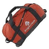 Eagle Creek Ultraleichte Reisetasche Sporttasche mit Rollen No Matter What Rolling Duffel, 76 cm, 105 L, rot Clay