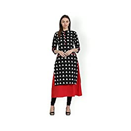 AnjuShree Choice Women's Stitched Cotton Kurti