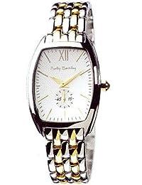 Betty Barclay heavens ligth 013 61 100 020 - Reloj analógico de mujer de cuarzo con correa de acero inoxidable multicolor - sumergible a 30 metros
