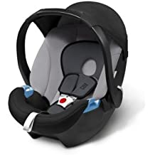 Cybex 514101020Aton Basic Gray Rabbit–Asiento infantil para coche, grupo 0+ Dalla nacimiento hasta 12meses, 0-13kg