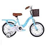 AJZGF Velo Enfant Vélo d'enfant Princess Student Bike Girl vélo à pédales 12'14' 16 avec...