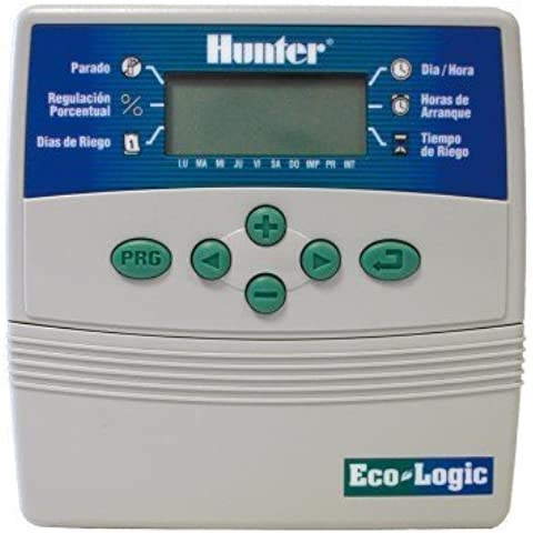 Jardin202 - Programador De Riego Hunter ECO-LOGIC. Interior 6 Estaciones
