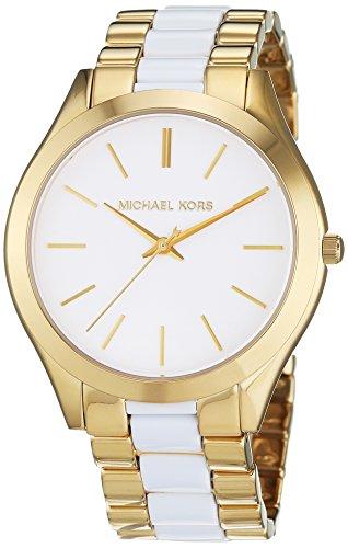 Michael Kors Damen-Armbanduhr Analog Quarz Edelstahl beschichtet MK4295