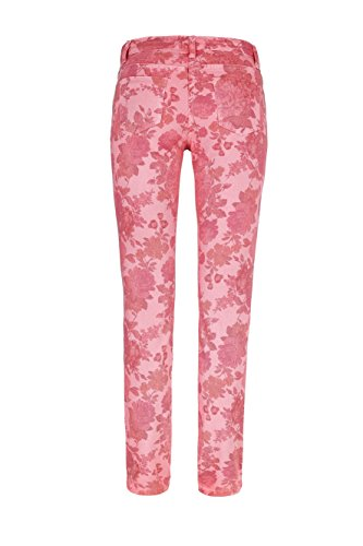 WomensBest Damen Jeans RIO Flowerprint Neon Orange