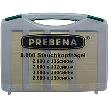 Stauchkopfnägel-Box, J-BOX, Inhalt 8000 Stück