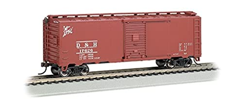 Bachmann 15005 40' Steam Era Box Car Delaware & Hudson HO, 15005